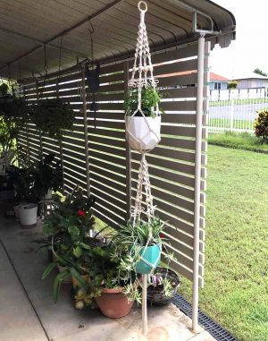 Double Butterfly Plant Hanger